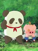 麦兜与大熊猫