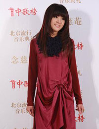 魏佳庆甜美微笑