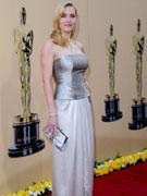 温斯莱特银色礼裙