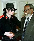纳米比亚总统接见杰克逊