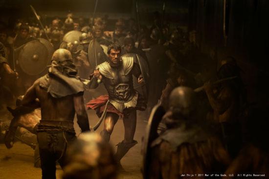 战斗中的忒修斯