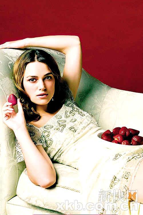 凯拉-奈特莉:野性的英伦玫瑰
