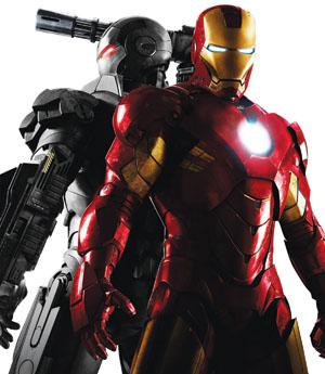 2D《钢铁侠2》全面升级票房有望奔2亿