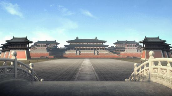 描述了唐朝的盛世和衰败,在这座被誉为人类文明史上最宏大的宫殿中图片