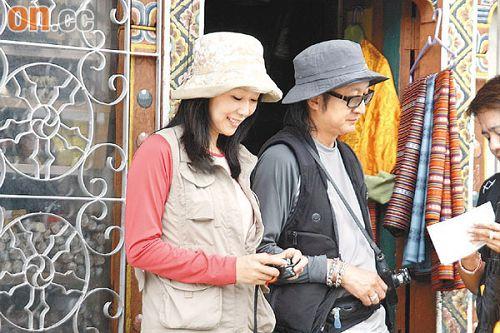 刘嘉玲林青霞前往不丹首都香槟拜会王太后(图)