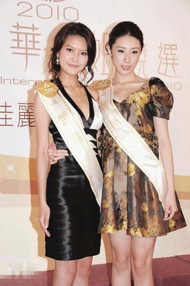 陈庭欣低胸参选中华小姐张慧雯成夺奖热门(图)