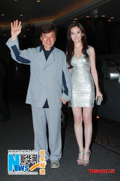 成龙和刘亦菲