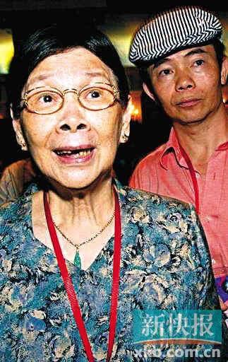 梅艳芳母亲覃美金日前被法官宣布破产