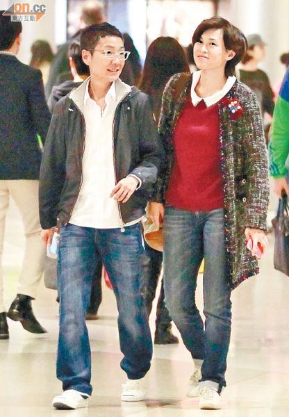 赵式芝与杨如芯日前趁空档拍拖到中环看电影。