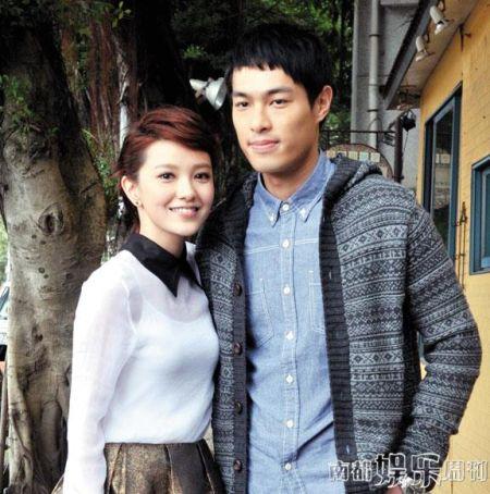 郭采洁与帅气男友杨佑宁感情稳定。