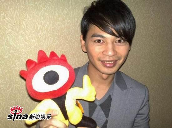 组图:周杰伦蔡依林等37位台湾艺人执小浪拜年(5)