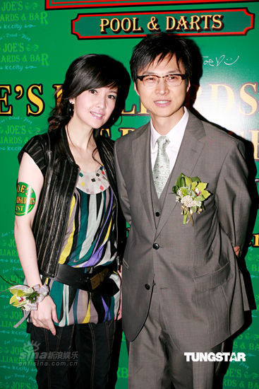 Vivian Chow and Joe Nieh