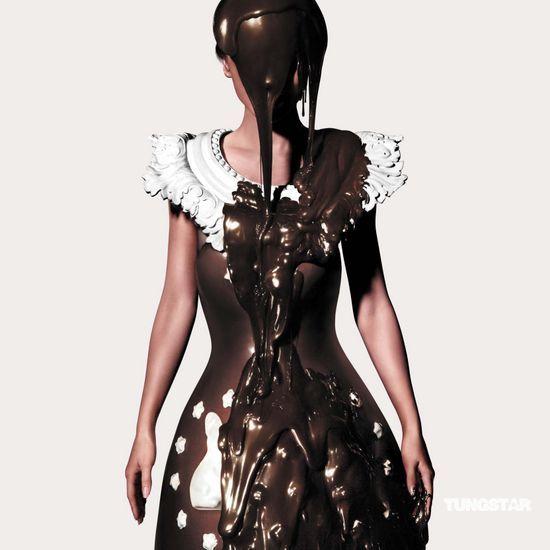 组图:Angelababy化身巧克力女郎拍写真