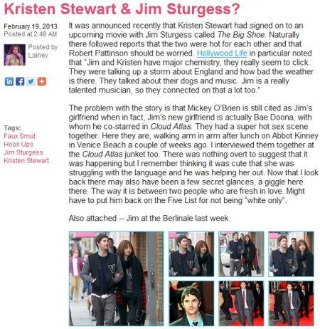 星美和张海柱真的在一起了 韩星裴斗娜被曝与吉姆·斯特吉斯交往