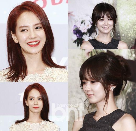 剧的30+韩国女演员宋智孝和张娜拉以活泼可爱的形象