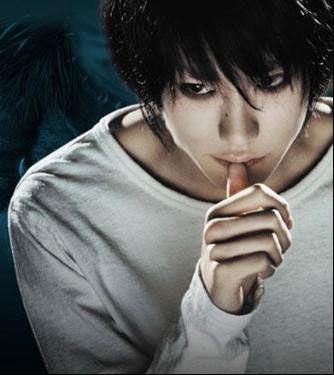 松山健一在《死亡笔记》中饰演L