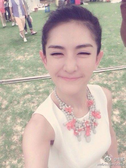 谢娜在微博中被封太阳女神