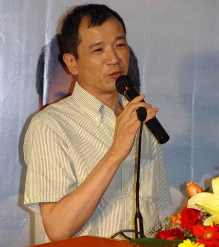 橙天娱乐总裁庄立奇祝贺新浪娱乐产业频道上线