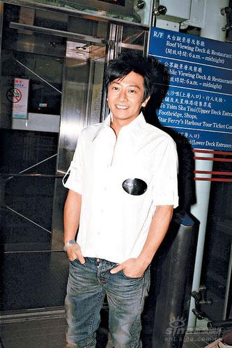 孙耀威与应采儿出席派对忘扣裤钮当场出丑(图)