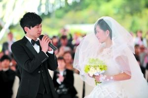 谢娜张杰结婚