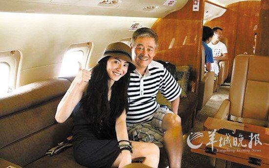 张柏芝曾乘坐赵本山的私人飞机