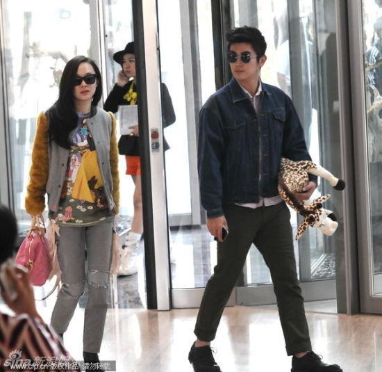 霍思燕与男友杜江