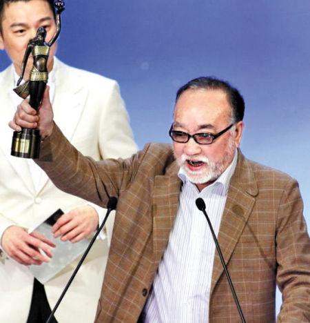 卢海鹏去年获得香港电影金像奖最佳男配角奖