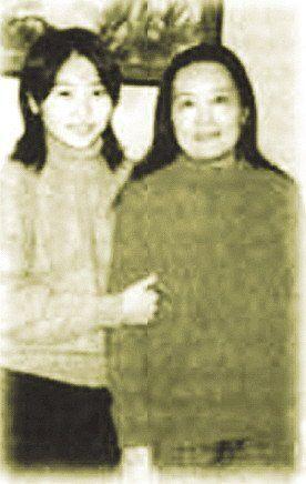 张末与妈妈肖华的合影(资料图)