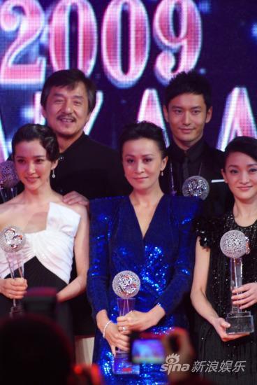 黄晓明连接三年当选中国十大慈善明星(组图)