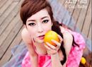 江伊涵变水果辣妹
