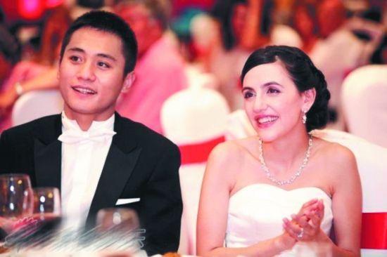 刘烨与法籍妻子安娜