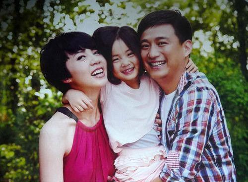 黄磊孙莉和女儿多多