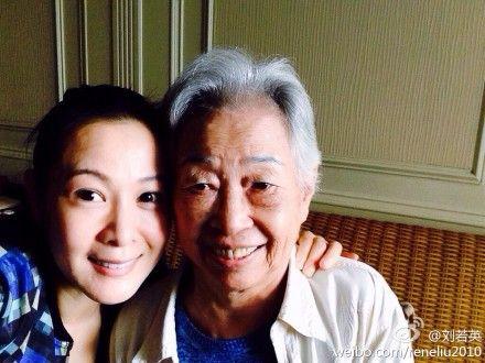 刘若英与昔日小学老师