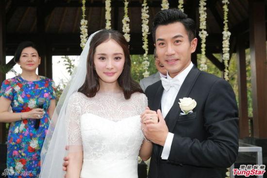 刘恺威微博承认杨幂怀孕 预产期为今年7月(组图)