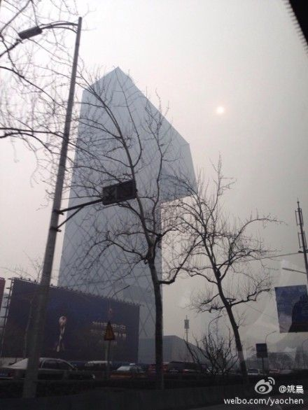 姚晨吐槽北京雾霾叹失去蓝天