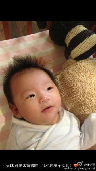 汪小菲的可爱小女儿