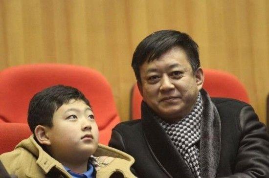 朱军与儿子