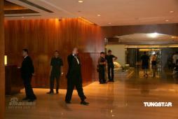 组图:新加坡酒店戒备森严确保陈冠希安全