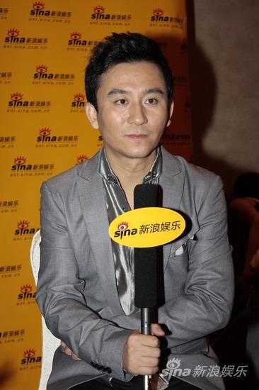 图文:华谊明星汇独家专访--赵毅接受采访
