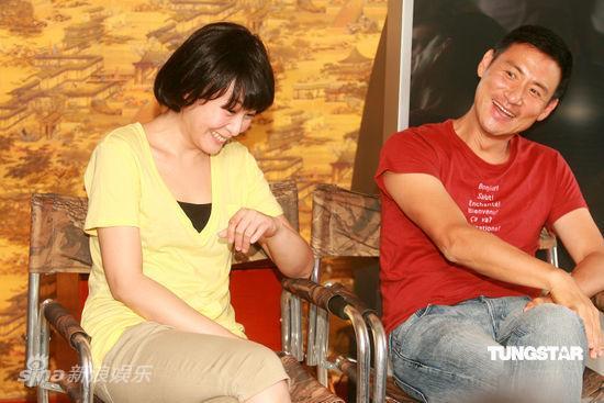 图文:《全城热恋》主创亮相-刘若英含笑低头