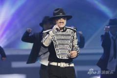 """组图:""""杰克逊""""现身网络盛典模仿秀向MJ致敬"""