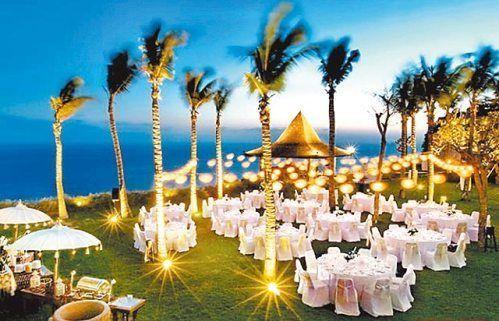 图文:侯佩岑巴厘岛拍婚纱-宴客场景