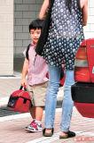Lucas开心和柏芝上学与张学友孩子成校友(图)