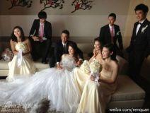 林丹谢杏芳完婚笑称现在老婆最大(图)