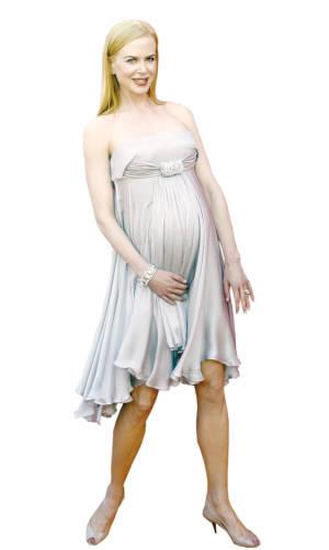 妮可-基德曼生下女儿宝宝体重2.9公斤(图)