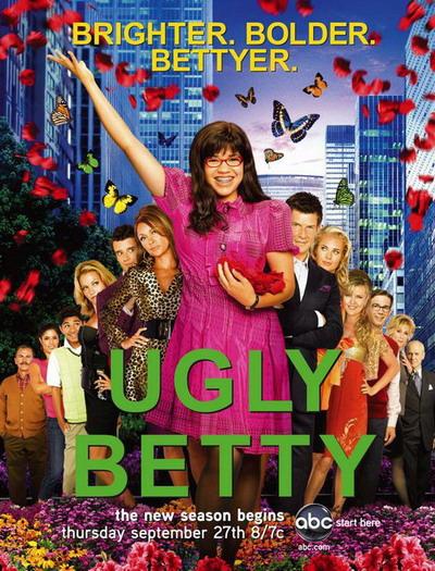 新浪电视剧排行榜第4季美剧候选:《丑女贝蒂》