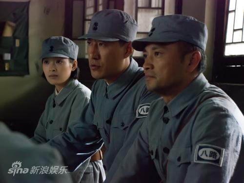 资料图片:电视剧《火线》剧照(1)