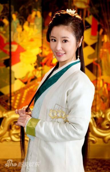 资料图片:电视剧《倾世皇妃》剧照-林心如饰演马馥雅图片