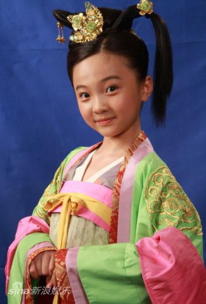 资料:《太平公主秘史》主角-林妙可饰太平公主(童年)图片