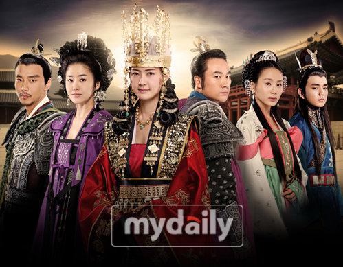 韩剧《善德女王》连续3周蝉联周收视冠军(图)